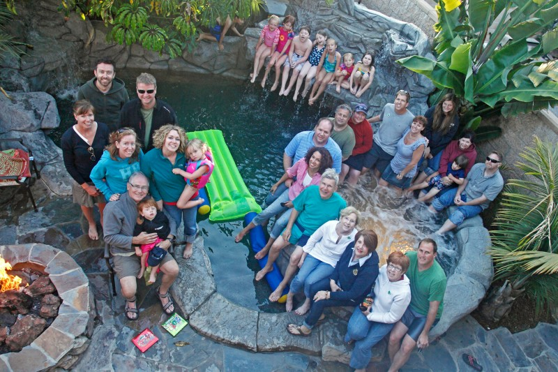 We love our cousins...and our cousins kiddos!  Lots of kids in the family make for great vacations together.