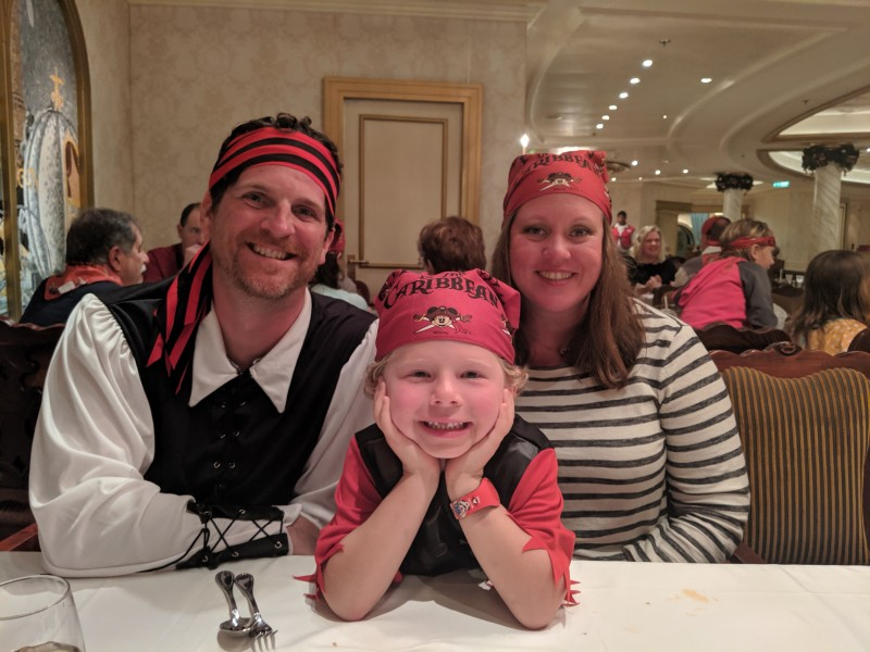 Pirate Night on Disney cruise