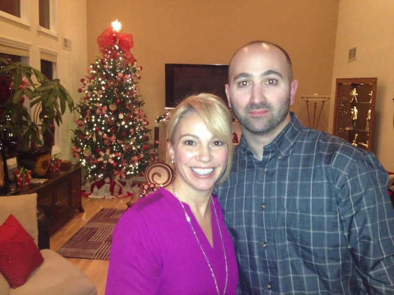 Christmas at mom and dad's