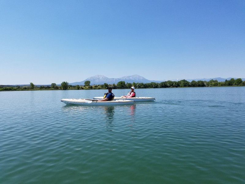 C & J kayaking in Colorado