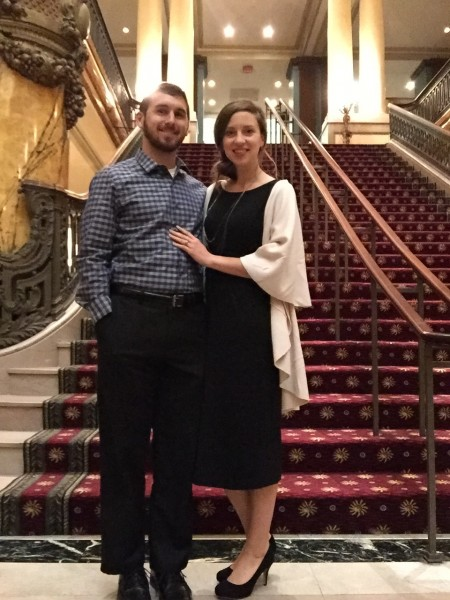 Second Wedding Anniversary at the Jefferson Hotel