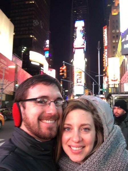 Exploring Times Square