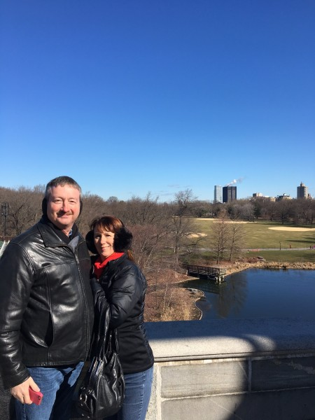 Ryan's mom and dad in New York
