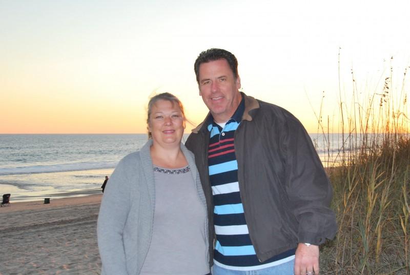 Beach on Thanksgiving