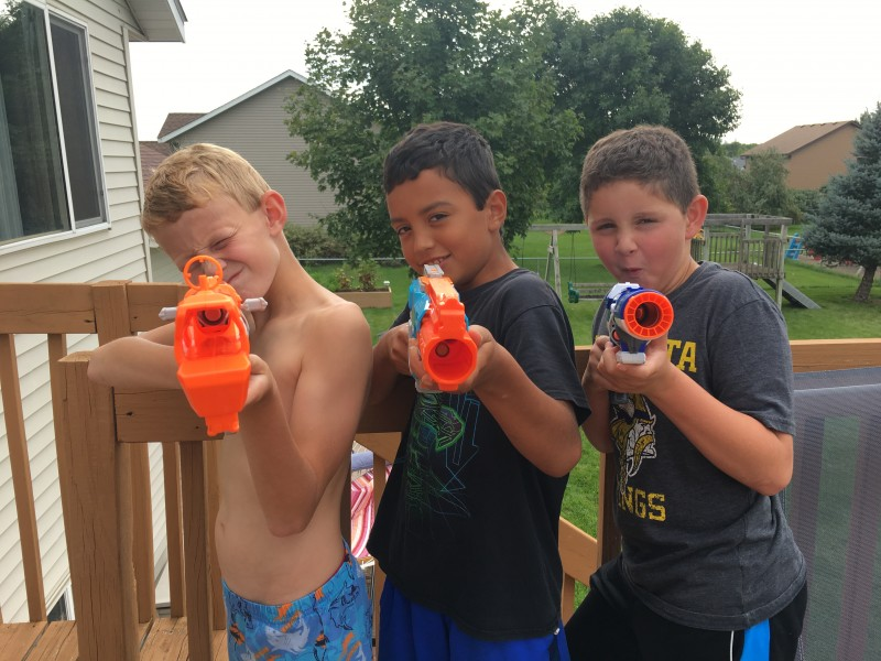 Tag with Nerf guns