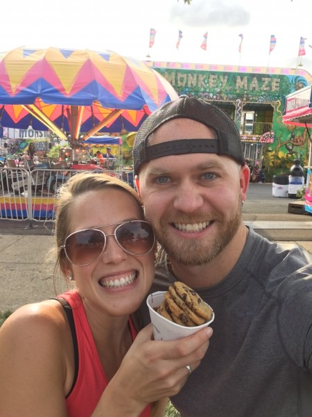 The Minnesota State Fair is another yearly tradition. Can't wait until we get those cookies again next year!