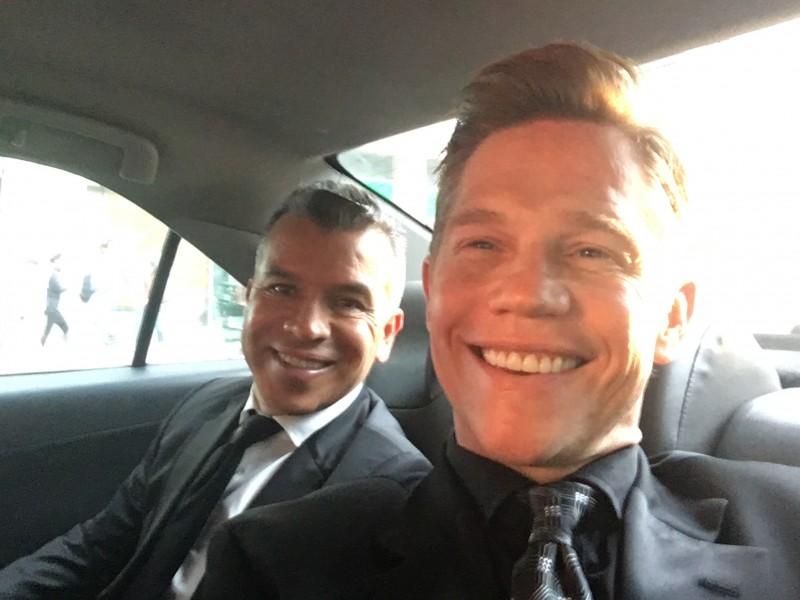 In cab 1