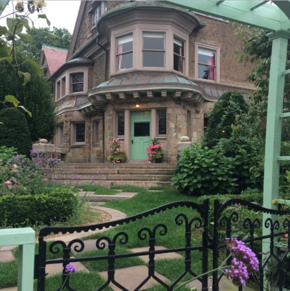 Our bed and breakfast was so beautiful!