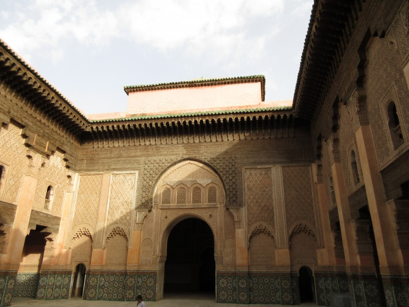 A beautiful site I visited in Morocco this summer