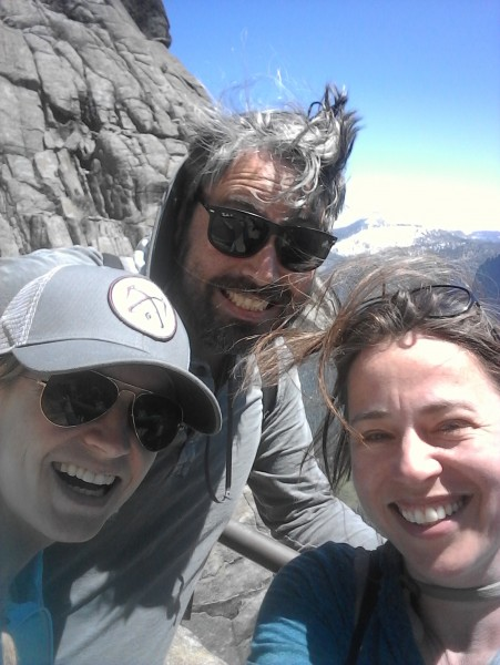 In Yosemite with my brother and his fiancee
