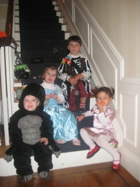 Halloween from years ago....we still love to decorate and do pumpkins and pass out candy to all of the kiddies.  Holidays with a little one will be even happier then they already are!