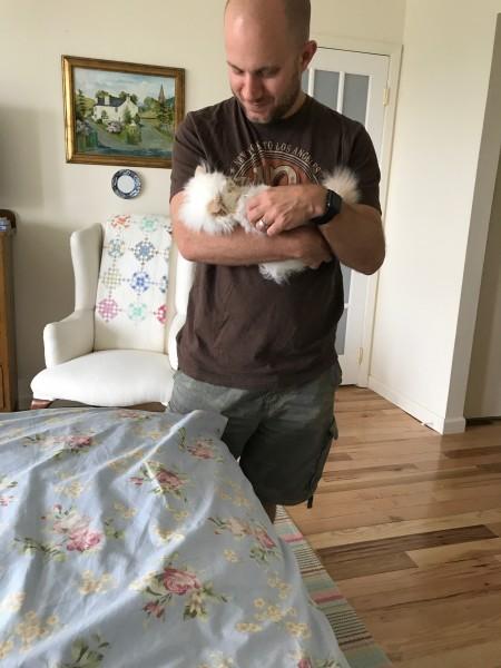 Penny's parents got a new kitten!