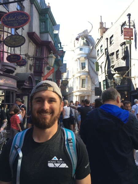 Ryan in Diagon Alley