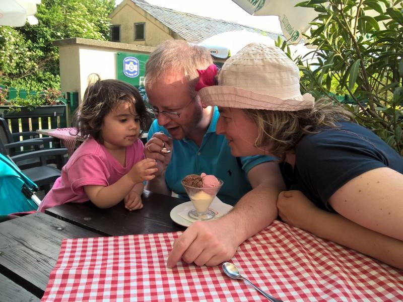 we love ice-cream!