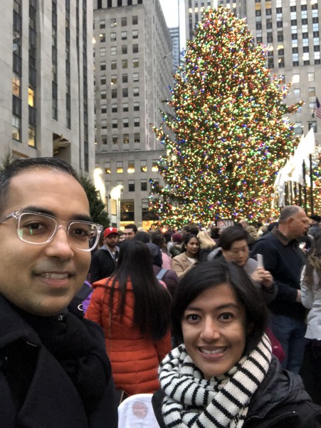 Holiday time in NYC