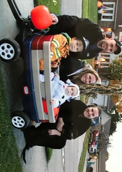 Halloween with my sister and her family.