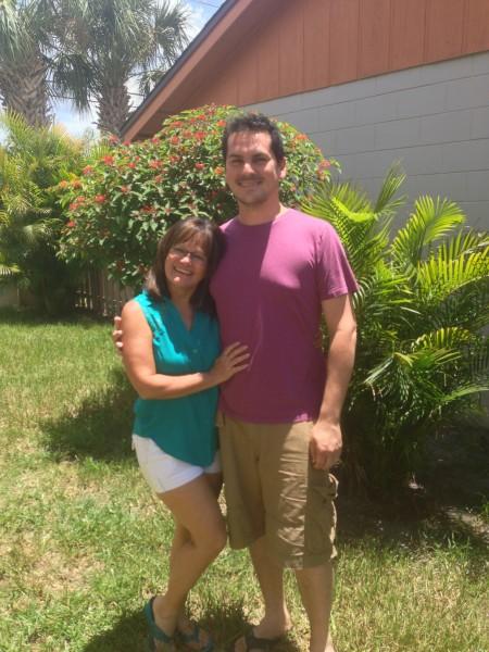 Mom and Rob