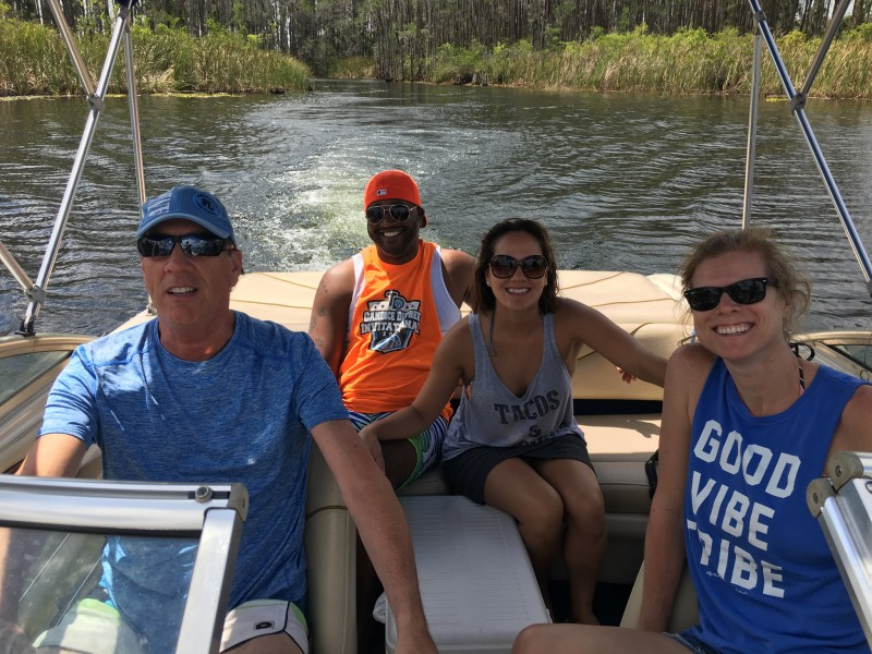 a day on Dad's boat
