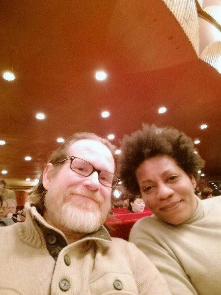 At the Metropolitan Opera... a fantastic anniversary gift from Steven!