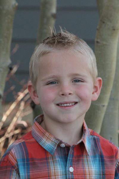 Hi, I am Carson. I am 5 years old.