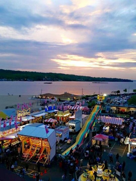 The annual fair at the beach.  We always go, ride the carousel and snack on zeppolis.  There are lots of kiddie rides.  Can't wait!