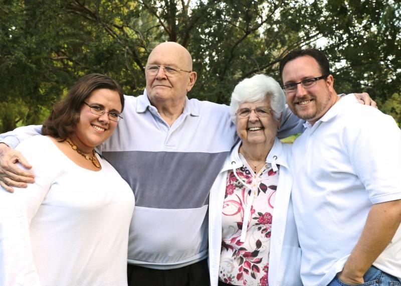 David's grandparents