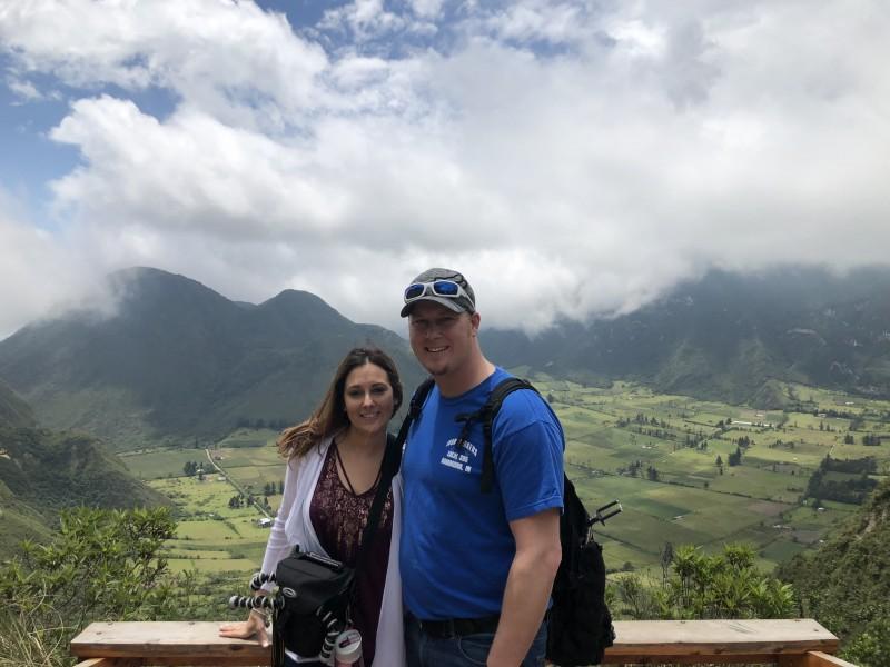 Hiking in Ecuador, South Aner