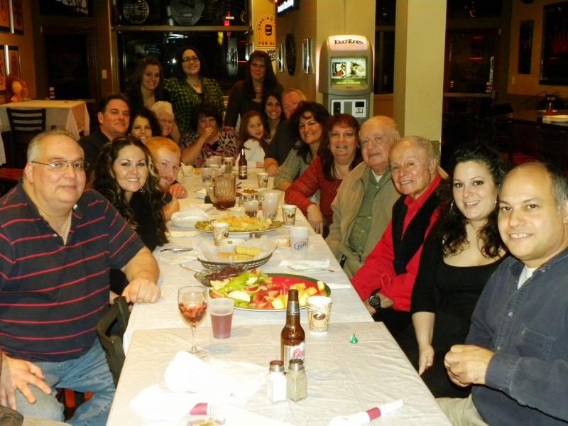 Christina's family get-together