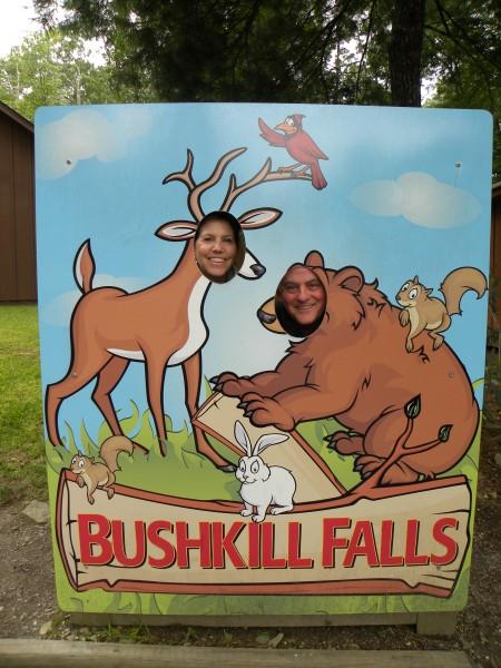 trip to Bushkill Falls