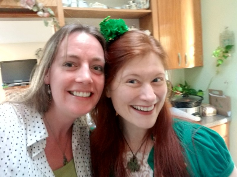 Our annual St. Patrick's Day get together