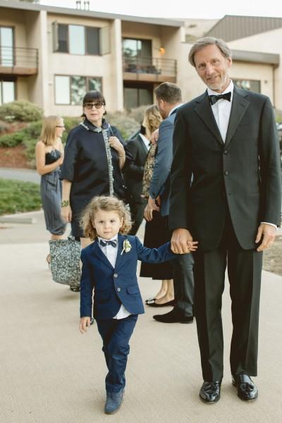 Papa Peter and Silas at JJ's wedding