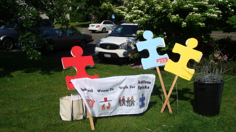 We walk every year to support Autism awareness and research.