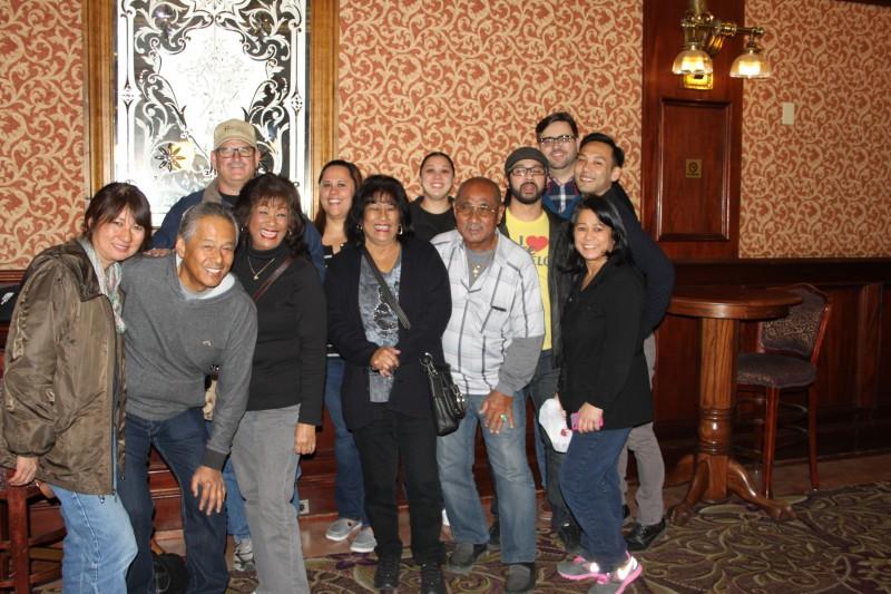 Family reunion in Las Vegas.