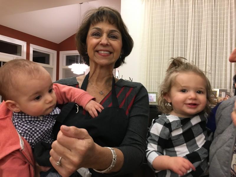 Aunts, cousins, babies- thanksgiving