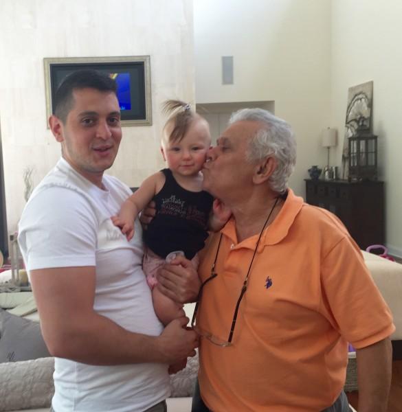 niki's dad & brother with alexa