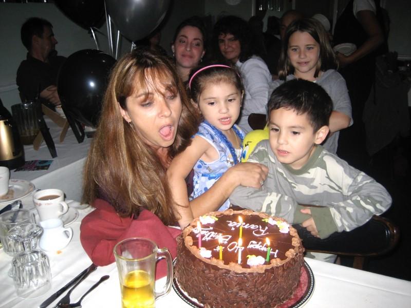 niki's oldest sister with her niece & nephew