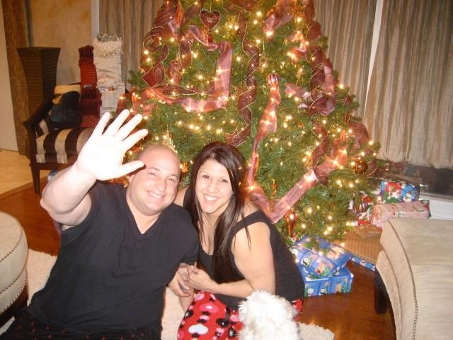 "billy & niki ""our christmas tree"""