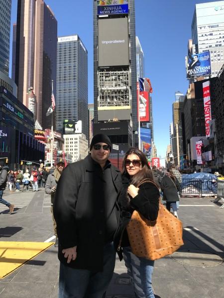 billy & niki in the city