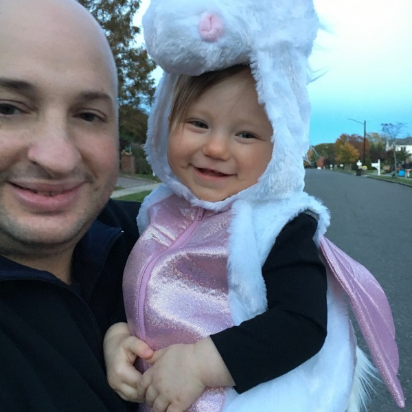 trick or treating in our neighborhood