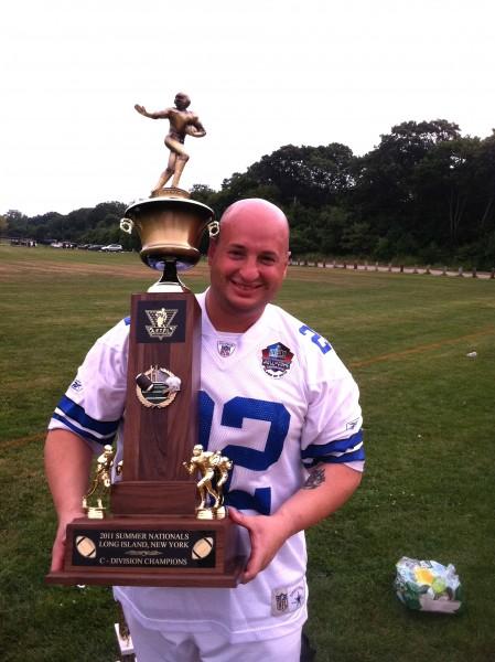 billy winning the championship