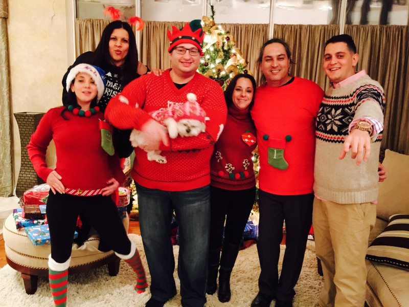 christmas eve siblings pic