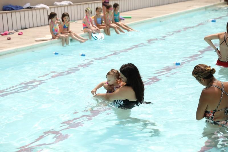 niki & alexa swim lessons