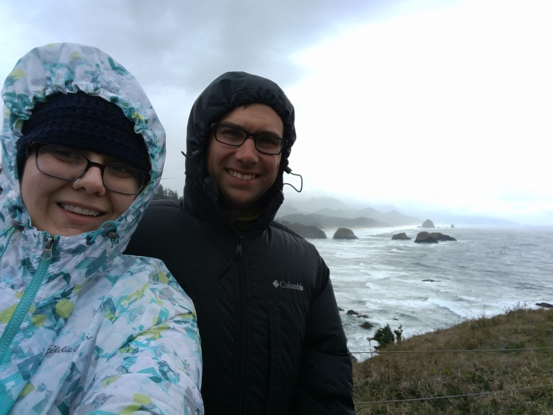Getting Blown away on the coast
