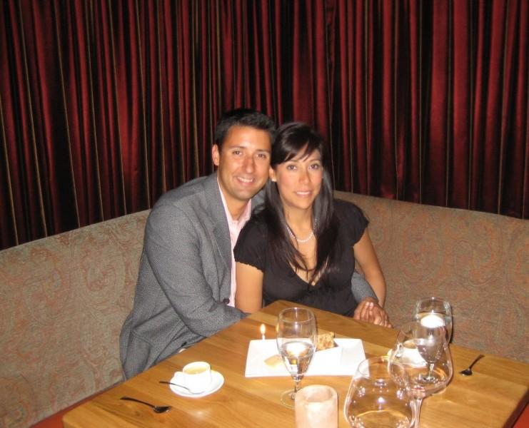 Anniversary dinner in Sacramento