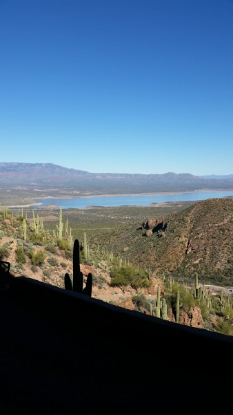 Beautiful view while on our Arizona trip
