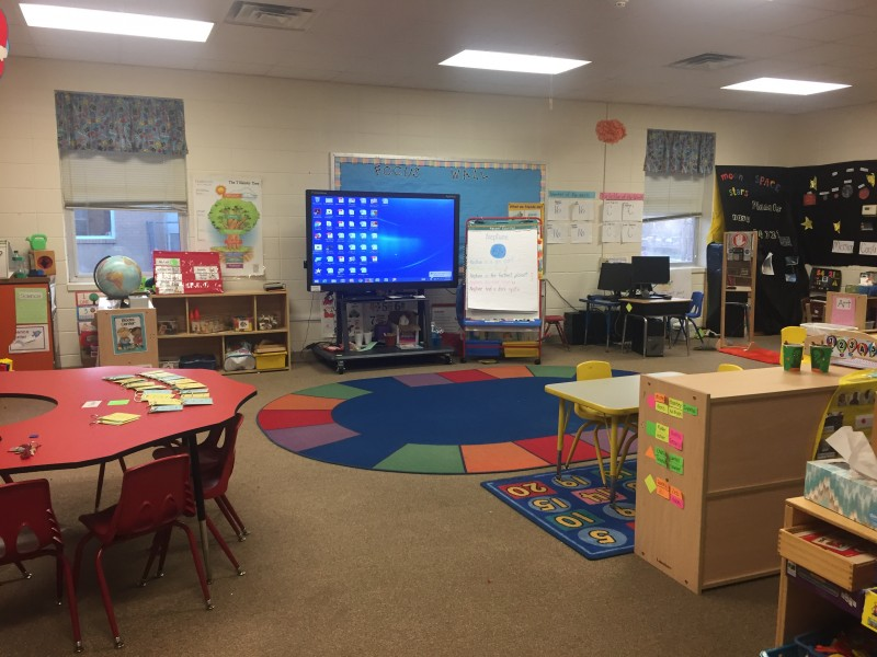 Ali's classroom