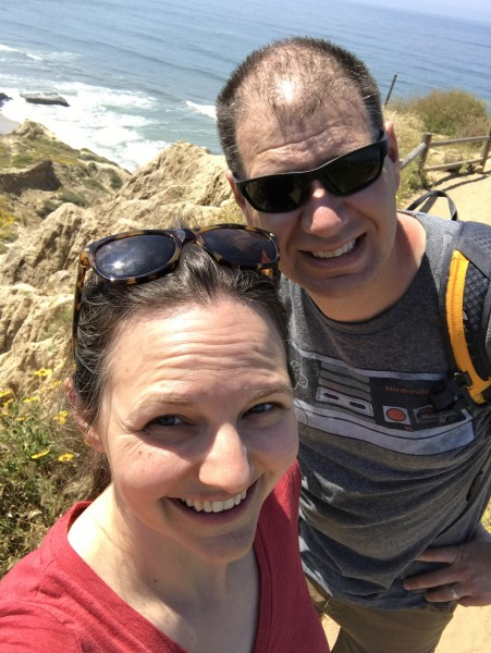 A hike in San Diego (one of our favorite spots to travel)