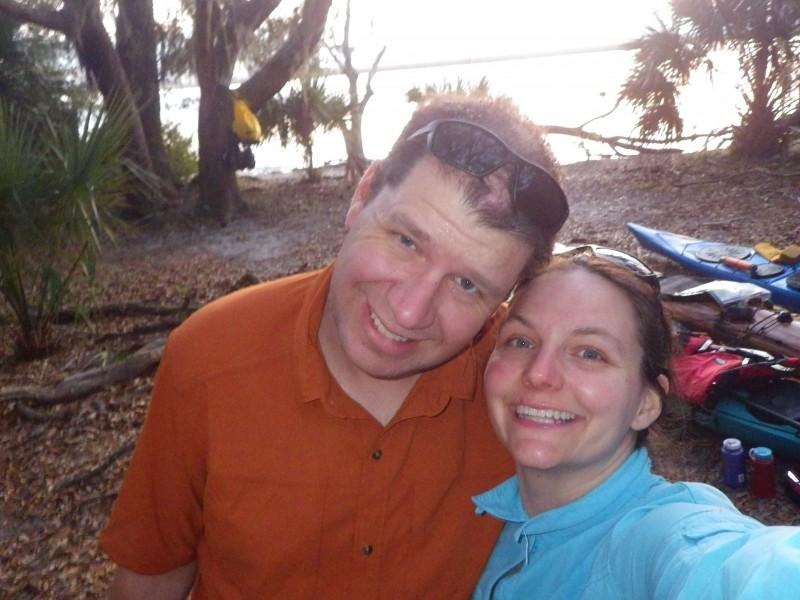 Sunset on Cumberland Island GA