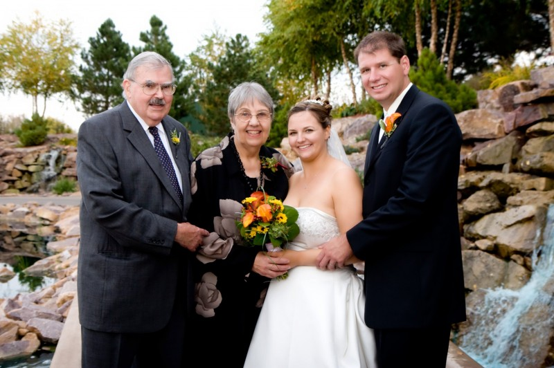 We have been blessed to have had Katie's Grandparents show us true love.