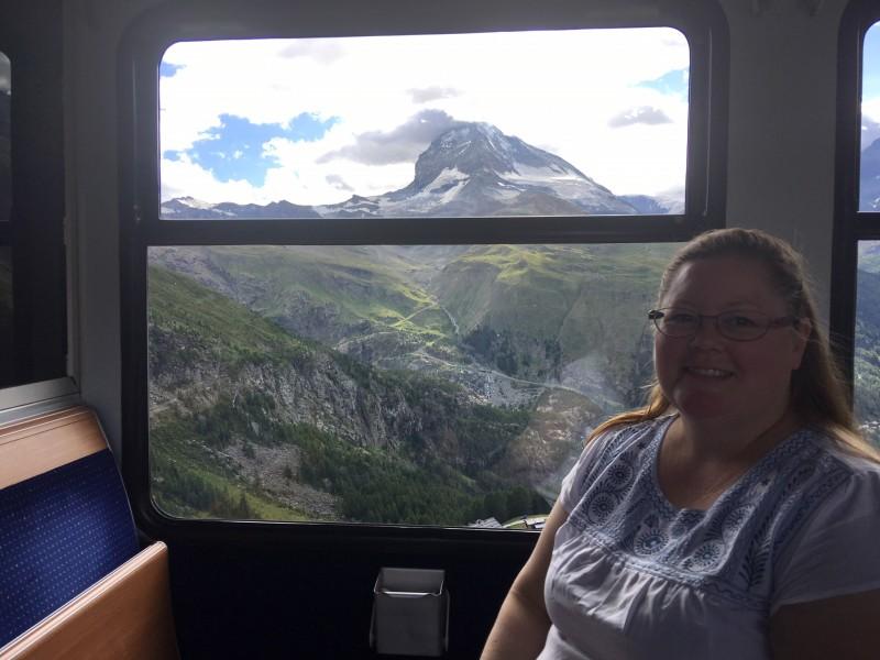 Mountains in Switzerland!